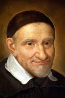 Saint Vincent, portrait de Simon Franois, Sacrisitie de St-Lazare,