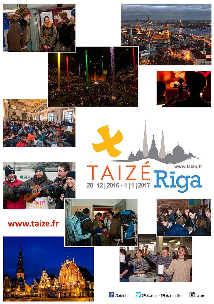 2016-10-26 Taize Riga plakat