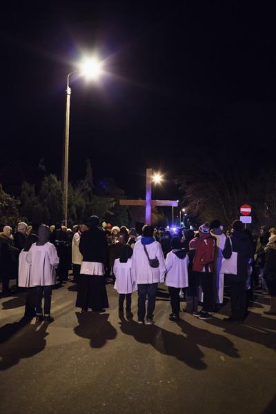 Droga Krzyżowa ulicami dzielnicy - Sopot, ul.Małopolska
