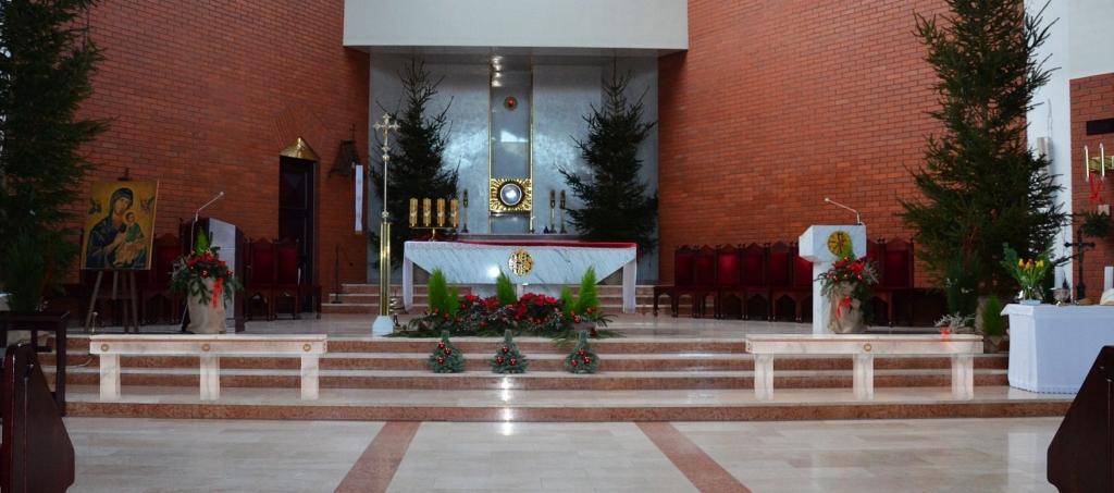 Balaski - projekt umiejscowienia przedprezbiterium
